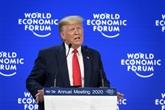 Climat : à Davos, Trump fustige les