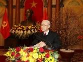 Nguyên Phu Trong appelle à mieux exploiter les potentiels pour le développement et la défense du Vietnam