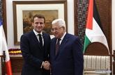 Rencontre Abbas - Macron sur les efforts pour sauver la solution à deux États