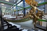Le canot de l'Empereur se dévoile aux Capucins à Brest