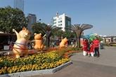 HCM-Ville : ouverture du festival de la rue des livres et de la rue florale Nguyên Huê