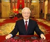 Vœux du Nouvel An 2020 du secrétaire général et président Nguyên Phu Trong