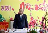 Le Premier ministre formule ses vœux du Têt à Dà Nang
