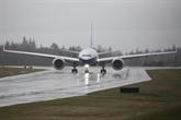 Premier vol du Boeing 777X après une si longue attente