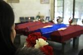 Cérémonie commémorative des victimes vietnamiennes d'un incendie à Moscou