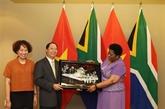 Vietnam, un des principaux partenaires de l'Afrique du Sud