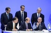 La Grèce, Chypre et Israël ont signé un accord sur le gazoduc Eastmed