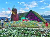 Clôture des événements organisés dans le cadre du Festival des fleurs de Dà Lat 2019