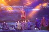 Spectacle marquant le 231e anniversaire de la victoire de Ngoc Hôi - Dông Da