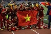 L'équipe de football féminine vietnamienne participe au 3e tour des éliminatoires