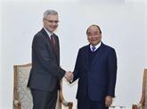 Le Premier ministre reçoit l'ambassadeur de France