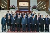 Le PM laotien termine sa visite au Vietnam pour coprésider une session intergouvernementale