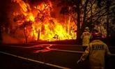 Message de sympathies à l'Australie pour les incendies de forêt