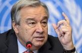 Le chef de l'ONU appelle à mettre fin à l'escalade des tensions