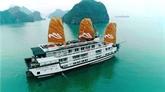 Lancement des bateaux de croisière Paradise Sails sur la baie de Ha Long