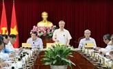 Dông Nai exhortée à renforcer le travail des cadres