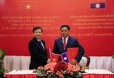 Les Parquets suprêmes du Vietnam et du Laos renforcent leur coopération
