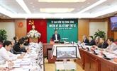 La 42e réunion de la Commission centrale de contrôle du Parti à Hanoï