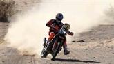 Dakar-2020 : Sunderland pénalisé, victoire de Cornejo en catégorie moto