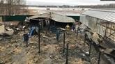 Une femme vietnamienne blessée dans un incendie de ferme en Russie