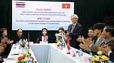 Renforcement de la coopération entre les journalistes de Hanoï et de Chiang Mai