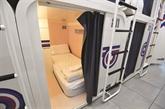 À Milan, on peut aussi dormer dans des capsules