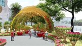 Foire des fleurs printanières de Phú My Hung 2020