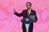 Le président Widodo visite l'archipel de Natuna