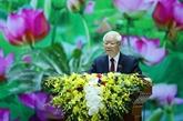 Nguyên Phu Trong félicite le seteur de la météorologie et de l'hydrologie