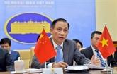Le vice-ministre des AE Lê Hoài Trung félicite la fête nationale chinoise