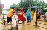 Les localités du Centre font face à la tempête Linfa