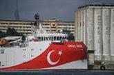 La Turquie va renvoyer le navire controversé en Méditerranée orientale