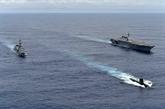 Trois navires japonais accostent au port de Cam Ranh