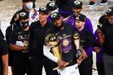 NBA : les Lakers décrochent leur 17e étoile, la plus