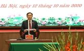 Un membre du Politburo réélu secrétaire du Comité du Parti de Hanoï