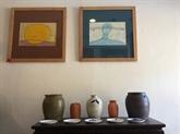 L'artiste-peintre Lê Thiêt Cuong, la rencontre de la céramique et des textes bouddhiques