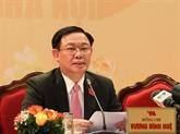 Clôture du XVIIe Congrès de l'organisation du Parti de Hanoi