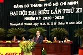 Ouverture du XIe Congrès de l'organisation du Parti de Hô Chi Minh-Ville