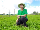 La pionnière de l'exportation de poudre de plantes herbacées vers l'Europe