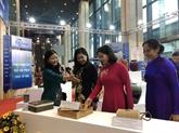 Plusieurs produits artisanaux attendus à la foire Hanoi Gift Show 2020