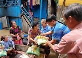 Aide d'urgence aux Viêt kiêu touchées par des inondations au Cambodge