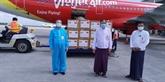 COVID-19: le Vietnam offre des fournitures médicales au Myanmar