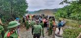 Les corps de 13 membres de l'équipe de sauvetage retirés des décombres d'un glissement de terrain