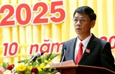 Lâm Van Mân élu secrétaire du Comité provincial du Parti de Soc Trangpour 2020-2025