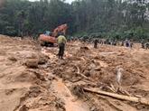 Soutien aux localités touchées par les inondations