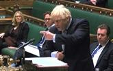Brexit : Johnson exige un