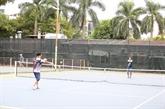 Une centaine de tennismen amateurs regroupés à Hanoï