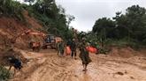 Trois soldats retrouvés morts, 19 disparus dans un glissement de terrain