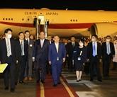 Le Premier ministre japonais Suga Yoshihide entame sa visite au Vietnam