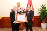 Le conseiller spécial du Premier ministre du Japon à l'honneur